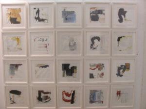 Spielerei, Folge von 36 Bildern, jeweils 30 x 30 cm